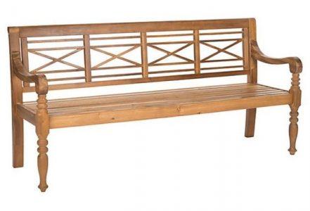 ספסל איקס עץ טיק