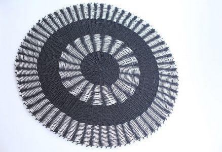 שטיח עשב ים שחור זברה
